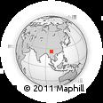 Outline Map of Yangbi