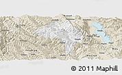 Classic Style Panoramic Map of Yangbi