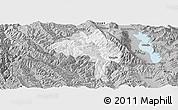 Gray Panoramic Map of Yangbi