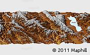 Physical Panoramic Map of Yangbi