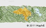 Savanna Style Panoramic Map of Yangbi