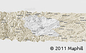 Classic Style Panoramic Map of Yanjin