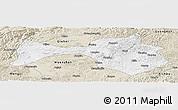 Classic Style Panoramic Map of Yanshan