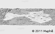 Gray Panoramic Map of Yanshan