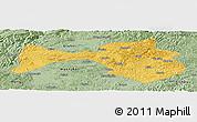 Savanna Style Panoramic Map of Yanshan