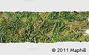 Satellite Panoramic Map of Yimen