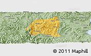 Savanna Style Panoramic Map of Yimen