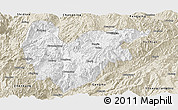Classic Style Panoramic Map of Yongde
