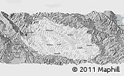Gray Panoramic Map of Yongping