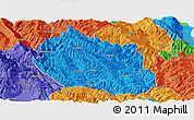 Political Panoramic Map of Yongping