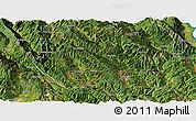 Satellite Panoramic Map of Yongping