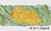 Savanna Style Panoramic Map of Yongping