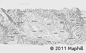 Silver Style Panoramic Map of Yongping
