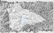 Gray Panoramic Map of Yongsheng
