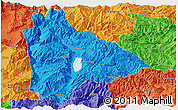 Political Panoramic Map of Yongsheng