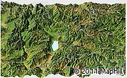 Satellite Panoramic Map of Yongsheng