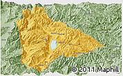 Savanna Style Panoramic Map of Yongsheng