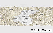 Classic Style Panoramic Map of Yuanmou
