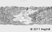 Gray Panoramic Map of Yuanmou