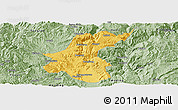 Savanna Style Panoramic Map of Yuanmou