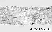 Silver Style Panoramic Map of Yuanmou