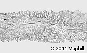 Silver Style Panoramic Map of Yuanyang