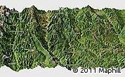 Satellite Panoramic Map of Yunlong