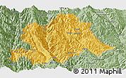 Savanna Style Panoramic Map of Yunlong