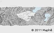 Gray Panoramic Map of Yuxi