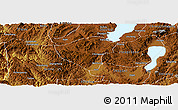Physical Panoramic Map of Yuxi