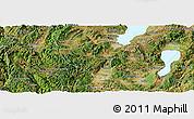 Satellite Panoramic Map of Yuxi