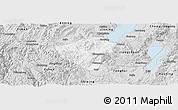 Silver Style Panoramic Map of Yuxi