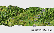 Satellite Panoramic Map of Zhaotong