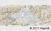 Classic Style Panoramic Map of Zhenkang