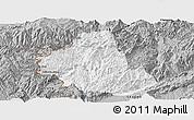 Gray Panoramic Map of Zhenkang