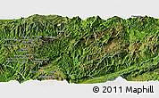 Satellite Panoramic Map of Zhenkang
