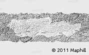 Gray Panoramic Map of Zhenxiong