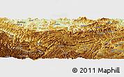 Physical Panoramic Map of Zhenxiong