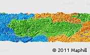 Political Panoramic Map of Zhenxiong
