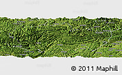 Satellite Panoramic Map of Zhenxiong