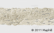 Shaded Relief Panoramic Map of Zhenxiong
