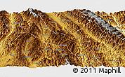 Physical Panoramic Map of Zhenyuan