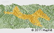 Savanna Style Panoramic Map of Zhenyuan