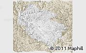 Classic Style Panoramic Map of Zhongdian