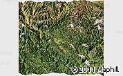 Satellite Panoramic Map of Zhongdian