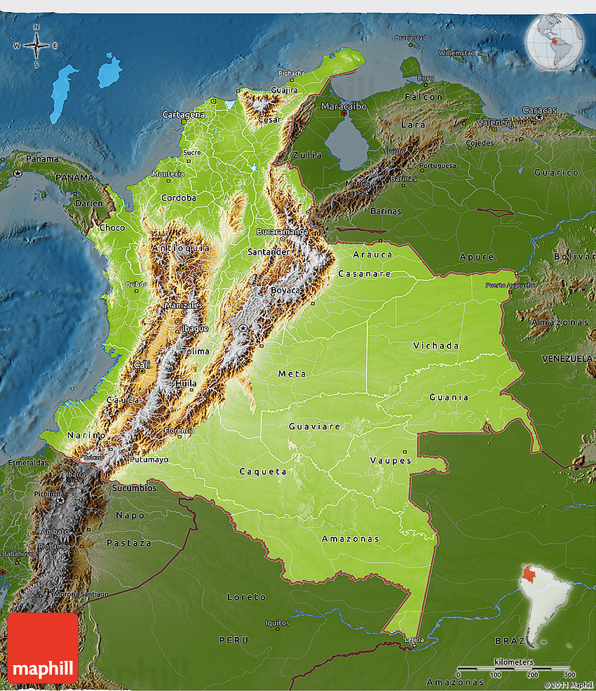 a look at the distinguishing topographical features of colombia Definition of distinguish in us english - recognize or treat (someone or something) as different  'food used to be one of the most distinguishing characteristics.