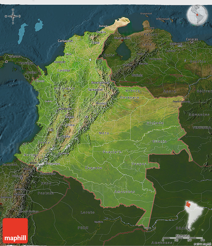 a look at the distinguishing topographical features of colombia Encyclopedic entry south america is a continent of extremes it is home to the world's largest river (the amazon) as well as the world's driest place (the atacama desert.