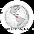 Outline Map of Envigado