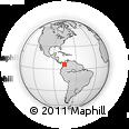 Outline Map of La ESTRELLa