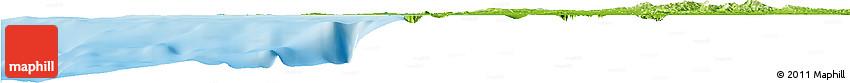 Physical Horizon Map of Cartagena (Dist. Esp.)